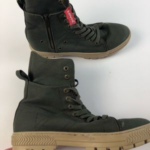 Levi's Men's High top sneakers Shoes Size 10 Green